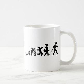 Nordisches Gehen Kaffeetasse