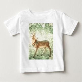 Nordisches Vintages skandinavisches Weihnachtsren Baby T-shirt