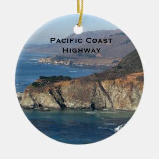 Nordkalifornien-Landschaftsverzierung Keramik Ornament