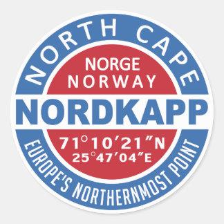 NORDKAPP Norwegen Aufkleber