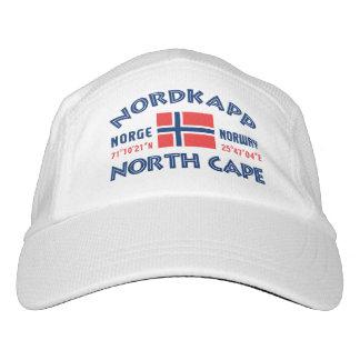 NORDKAPP Norwegen Gewohnheitskappe Headsweats Kappe