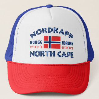 NORDKAPP Norwegen Hut Truckerkappe