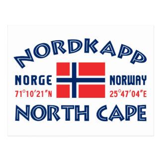 NORDKAPP Norwegen Postkarte