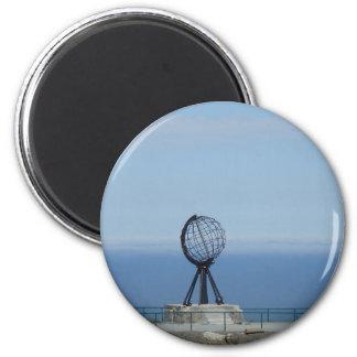 Nordkapp Runder Magnet 5,1 Cm