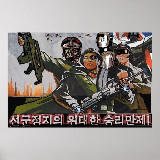 Nordkorea 2049 plakate