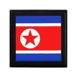 Nordkorea-Flagge Geschenkboxen
