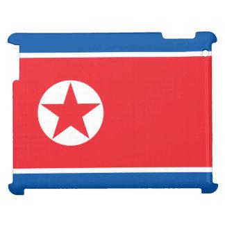 Nordkorea-Flagge iPad Schale