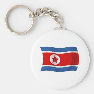 Nordkorea-Flagge Keychain Schlüsselanhänger