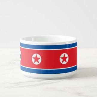 Nordkorea-Flagge Schüssel