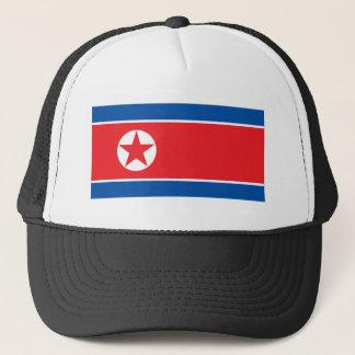 Nordkorea-Flagge Truckerkappe