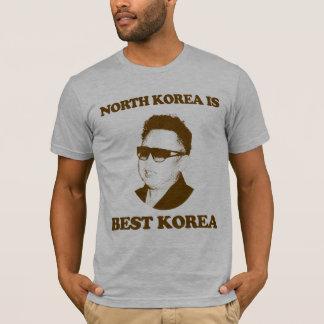 Nordkorea ist bestes Korea T-Shirt