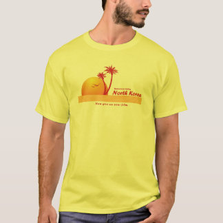 Nordkorea-Tourismus T-Shirt