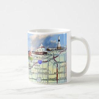 Nordküsten-Lichter Kaffeetasse
