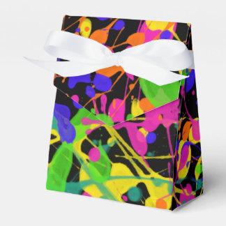 Nordlicht-Farben-Spritzer Geschenkschachtel