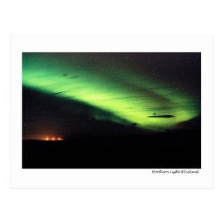 Nordlicht Postkarte