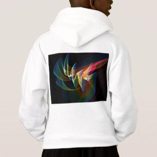 Nordlichter, abstrakte Regenbogen-Aurora Hoodie