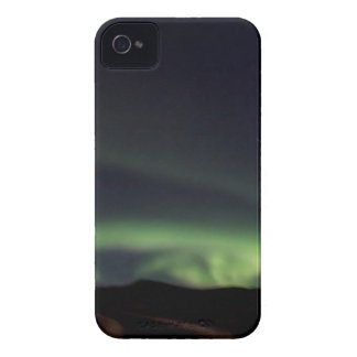 Nordlichter - Aurora Borealis in Island iPhone 4 Case-Mate Hülle