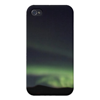 Nordlichter - Aurora Borealis in Island iPhone 4 Cover