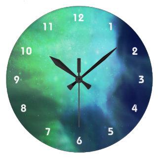 Nordlichter/Aurora Borealis Uhren