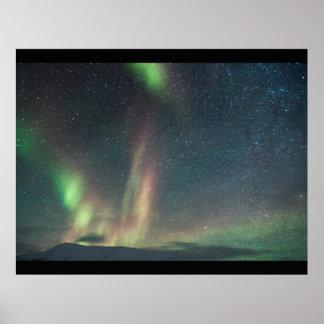 Nordlichtgewohnheit personifizieren Aurora Poster