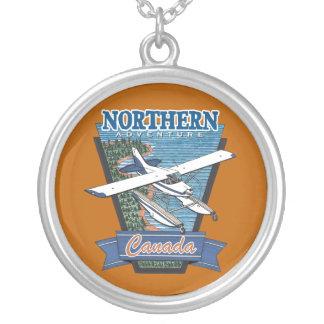 Nordluftfahrt-Abenteuer Kanada Versilberte Kette