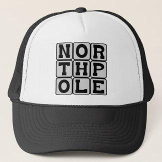 Nordpol, kältester Platz auf Erde Truckerkappe