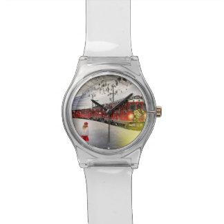 Nordpoleil- Weihnachtszug - Sankt-Zug Armbanduhr