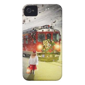 Nordpoleil- Weihnachtszug - Sankt-Zug iPhone 4 Hüllen