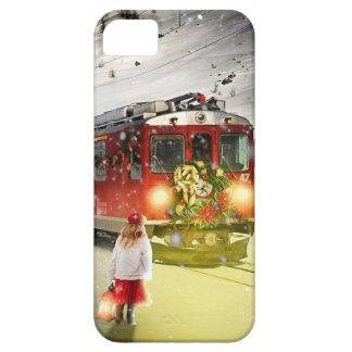 Nordpoleil- Weihnachtszug - Sankt-Zug iPhone 5 Etui