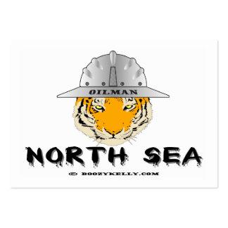 Nordsee-Tiger Visitenkarten Ölfeld Öl Gas