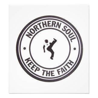 NordSoul behalten die Glauben-Slogans u. den Photodruck