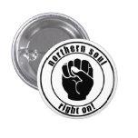NordSoul-Flecken-Recht auf Knopf Button
