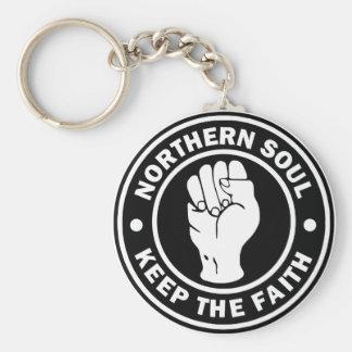 NordSoul Logoschwarzes Schlüsselanhänger