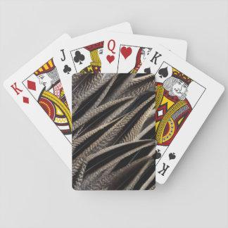 Nordspießenten-Enten-Federn Spielkarten