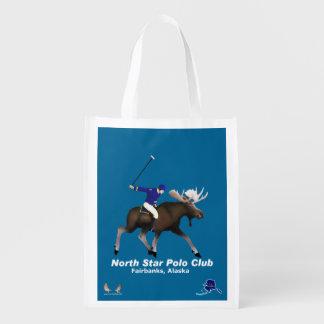 Nordstern-Polo-Verein Wiederverwendbare Einkaufstasche