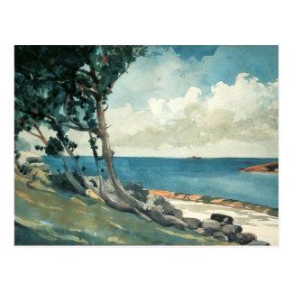 Nordstraße, Bermuda durch Winslow Homer Postkarte