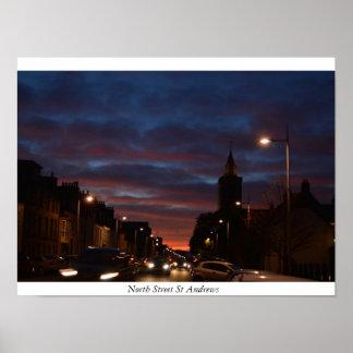 Nordstraße St Andrews Poster