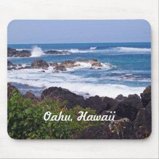 Nordufer auf der Insel von Oahu in Hawaii Mauspads