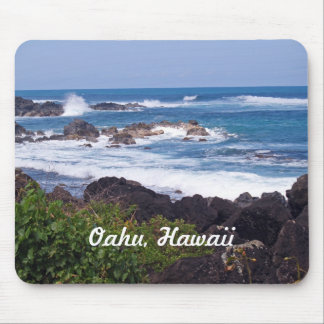 Nordufer auf der Insel von Oahu in Hawaii Mousepad