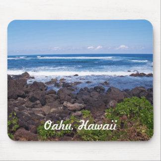 Nordufer auf der Insel von Oahu in Hawaii Mousepads