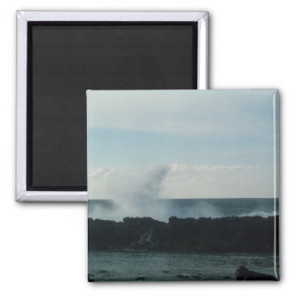 Nordufer in quadratischem Magneten Hawaiis Quadratischer Magnet