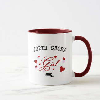 Nordufer-Mädchen-Tasse Tasse