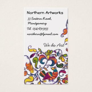Nordvolksvogel-Visitenkarte Visitenkarte