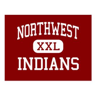 Nordwest- amerikanischer Ureinwohner - hohes - Postkarte
