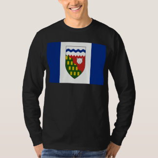 Nordwest-Territoriens-Flagge T-Shirt