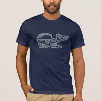 Nordwestamerikanischer Ureinwohner Wolf T-Shirt