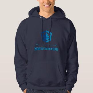 Nordwestlicher Crew-PulloverHoodie Hoodie