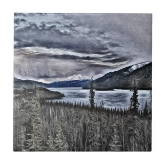 Nordwildnis Kanada Keramikfliese