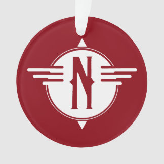 Nordzeiger-Karten-Symbol-Verzierung Ornament