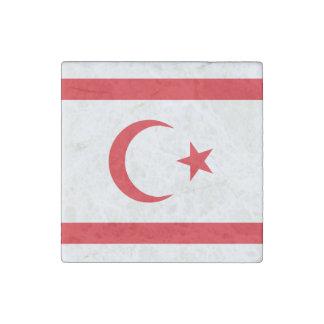 Nordzypern-Flagge Stein-Magnet